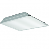 Lithonia 39 Watt LED Dimmable 2x2 Recessed Troffer with Acrylic Patterned Lens - 4000K 120V-277V 3,883 Lumen Fixture - DLC Standard (2GTL2LP840)