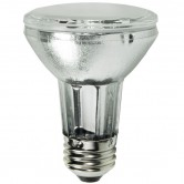 GE 39 Watt PAR20 Pulse Start Ceramic Metal Halide 3000K Medium (E26) Base Clear Flood Bulb - M130/O (CMH39/UPAR20/FL25)
