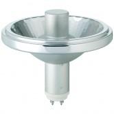 Philips 70 Watt R111 Pulse Start Ceramic Metal Halide 3000K Twist & Lock (GX8.5) Base Narrow Flood Bulb - M139/O (CDM-R111/70W/930/GX8.5/FL24)