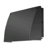 RAB 57 Watt LED Full Cutoff Slim Wallpack - 5000K 120V-277V 73 CRI 5022 Lumen Bronze Fixture (SLIMFC57)