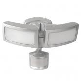 Feit Electric LED 40 Watt 5000K 3000 Lumen 120V Dual Head Motion Security Floodlight Fixture With Dusk To Dawn Sensor (73719)
