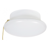 "Sylvania 15 Watt LED 7"" Retrofit for Medium (E26) Base Ceiling Light Fixture - 4000K 120V 82 CRI 1200 Lumen - with Pull Chain (LED1200CL840RP)"