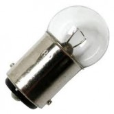 "1.02 Amp 1.44"" G6 Incandescent 6.5V Double Contact Bayonet (BA15d) Base Clear Miniature Bulb (#82)"