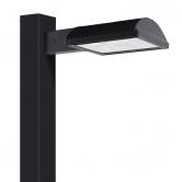 "RAB 78 Watt LED Type IV Distribution Shoebox Dark Bronze Fixture - 5100K 120V-277V 71 CRI 10157 Lumen - Includes 8"" Pole Mounting Arm (ALED4T78)"