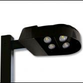 Cree 228 Watt LED Type III Distribution Area Light - 5000K 120V-277V 70 CRI 23,000 Lumen Dark Bronze Fixture (C-AR-A-4LD-23L-50K-DB)