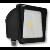 Cree 30 Watt LED Dark Bronze Compact Flood Fixture - 5000K 120V-277V 70 CRI 2900 Lumen - DLC Standard (C-FL-A-RC-3L-50K-DB)