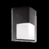 Rab 12 Watt LED Vandal Resistant Wallpack - 4000K 120V-277V 88 CRI 982 Lumen Bronze Fixture (ENTRA12N)
