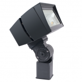 RAB 39 Watt LED Floodlight - 3000K 120V-277V 70 CRI 5509 Lumen Bronze Fixture - Slipfitter Mount (FFLED39SFY)