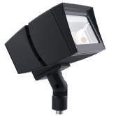 RAB 80 Watt LED Floodlight - 5000K 120V-277V 72 CRI 9672 Lumen Bronze Fixture - Arm Mount (FFLED80)
