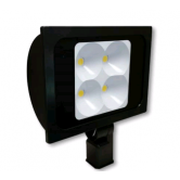 "Cree 234 Watt LED Wide Floodlight - 4000K 120V-277V 70 CRI 26,500 Lumen Dark Bronze Fixture - Includes 2"" Adjustable Fitter (C-FL-A-RTF4-26L-40K-DB)"