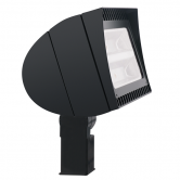 RAB 125 Watt LED Floodlight - 4000K 120V-277V 71 CRI 17,369 Lumen Bronze Fixture - Slipfitter Mount - DLC Standard (FXLED125SFN)