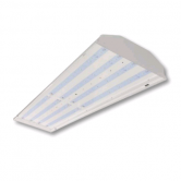 "Cree 220 Watt 48"" LED Linear White High Bay Fixture - 5000K 120V-277V 80 CRI 28,500 Lumen - Includes V-Hook, 36"" Chain and 6' Cord With Straight Blade Plug (Lens Not Included) - DLC Standard (C-HB-A-L4F-28L-50K-WH)"