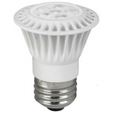 TCP LED 7 Watt P16 Dimmable 41K Flood (LED7P1641K Flood)