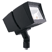 RAB 39 Watt LED Floodlight - 4000K 120V-277V 71 CRI 5651 Lumen Bronze Fixture - Mounting Arm - DLC Standard (FFLED39N)
