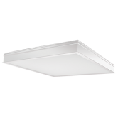 RAB  LPANEL 2X2 LED CEILING 34W DIM 4000K RECESSED WHITE (PANEL2X2-34N/D10)