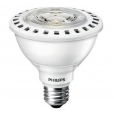 Philips 12 Watt PAR30S Short Neck LED 3500K 120V 950 Lumen 83 CRI Medium (E26) Base AirFlux White Bulb (12PAR30S/F25 3500 AF SO 6/1)