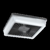 RAB  PORTO XL 18IN 105W WARM EMERG LED 0-10V DIM POLYCARB LENS BZ (PRT105Y/D10/E2)