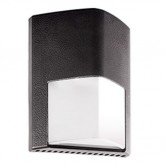 RAB 12 Watt LED Wallpack with 120V Photocell - 5000K 120V 70 CRI 1284 Lumen Bronze Fixture - DLC Listed (ENTRA12/PC)