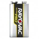 Rayovac 9V Alkaline Ultrapro Reclosable 12-Pack Industrial Batteries (AL9V-12PPJ)