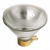 Satco 120 watt PAR38 Incandescent; Clear; 2000 Average rated hours; 1740 lumens; Side Prong base; 120 volts (120PAR/3FL/MINE)