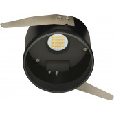 "Satco Freedom 10.5 watt; 4"" base unit LED Downlight / Retrofit Fixture; 2700K-2200K; 120 volts (10.5WLED/4-BASE/27-22K/120V)"