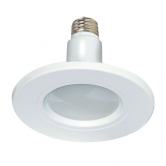"Satco 12 watt; Downlight Retrofit LED; 5""-6"" Trim; 2700K; Medium base; 120 volts; 110 deg. beam spread; 2-pack (12W/LED/5-6TRIM/2700K/120V/2P)"
