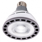Hi-Pro 12 watt PAR30 Short Neck LED; 4000K; 25' beam spread; Medium base; 100-277 volts (12W/LED/PAR30/SN/4K/100-277V)
