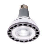Hi-Pro 12 watt PAR30 Long Neck LED; 3000K; 25' beam spread; Medium base; 100-277 volts (12W/LED/PAR30/LN/3K/100-277V)