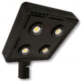 Cree 119 Watt LED Type VII Distribution Shoe Box - 4000K 120V-277V 70 CRI 16,900 Lumen Dark Bronze Fixture - DLC Premium (C-AR-A-SQT7-17L-40K-DB)