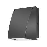 RAB 37 Watt LED Cutoff Wallpack - 4000K 120V-277V 73 CRI 3873 Lumen Bronze Fixture (SLIM37N)
