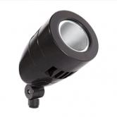 RAB 13 Watt LED Bullet Floodlight with Hood - 4000K 120V-277V 84 CRI 1111 Lumen Black Spotlight Fixture (HSLED13NB)