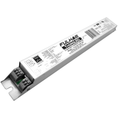 Fullham WorkHorse Single Channel LED DALI Dimmable Driver - 120V-277V Input Voltage, Constant Current 40 Watt Max. Programmable 250-1050mA - Linear Case with End Terminals (T1A1UNV105P-40E)