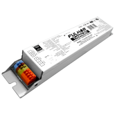 Fulham WorkHorse Single Channel LED 0-10V Dimmable Driver - 120V-277V Input, 60 Watt Max. Programmable 250-1050mA Constant Current Output - Linear Case with Terminals (T1M1UNV105P-60E)