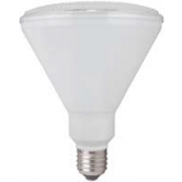 TCP LED 17 Watt P38 Dimmable 30K Flood BLK  (LED17P38D30K FloodB)