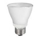 TCP 8 Watt PAR20 LED 4100K 120V 530 Lumen 82 CRI Medium (E26) Base Dimmable Flood Bulb (LED8P20D41KNFL)