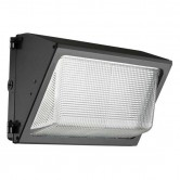 Lithonia 49 Watt LED Wallpack - 5000K 120V-277V 80 CRI 5695 Lumen Dark Bronze Fixture (TWR1 LED P4 50K MVOLT DDB)