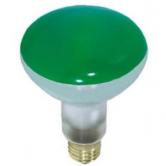 65 Watt BR30 Incandescent 130V Medium (E26) Base Green Flood Bulb (65BR30/GREEN)