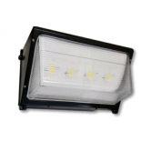 Cree 119 Watt LED Traditional Wallpack with Prismatic Glass Lens - 4000K 120V-277V 70 CRI 15,300 Lumen Dark Bronze Fixture (C-WP-A-TR-15L-40K-DB)