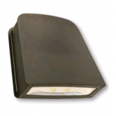 Cree 80 Watt LED Large Wallpack-Flood with Tempered Glass Lens - 4000K 120V-277V 70 CRI 8100 Lumen Dark Bronze Fixture - Includes Mounting Plate (C-WP-A-SL-8L-40K-DB)