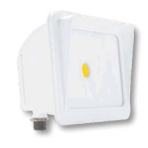 Cree 30 Watt LED White Compact Flood Fixture - 5000K 120V-277V 70 CRI 2900 Lumen - DLC Standard (C-FL-A-RC-3L-50K-WH)