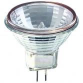 Athalon 10 Watt MR11 Halogen 6V Bipin (G4) Base Clear Covered Glass Bulb (JCR/M/6V/10W/ATH)